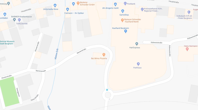 Bombenfund Bergheim