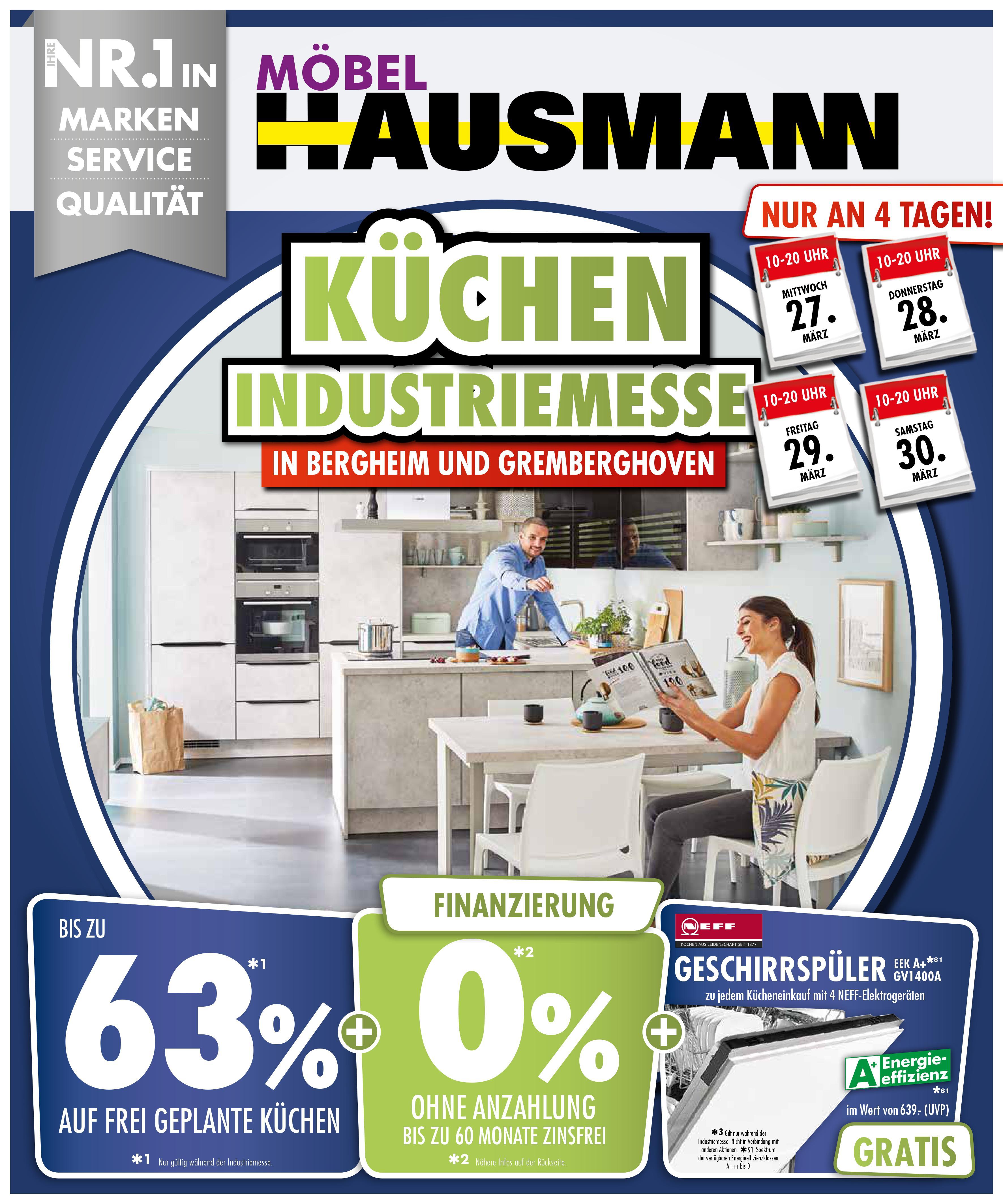 Küchen Industriemesse Bei Möbel Hausmann Regiotv Rhein Erft