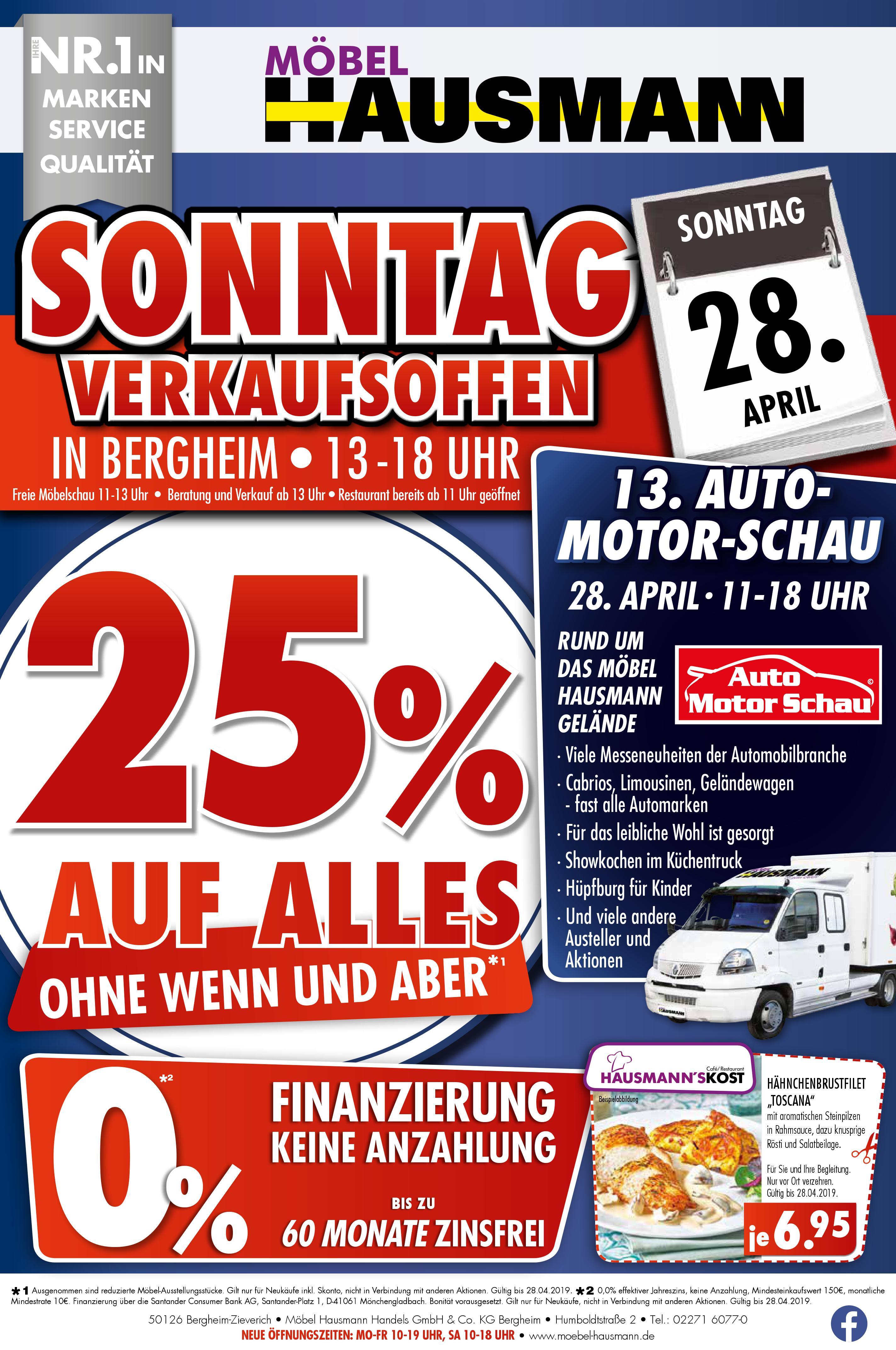 Verkaufsoffener Sonntag Bei Möbel Hausmann Regiotv Rhein Erft